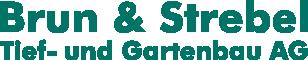 Brun & Strebel Tief- und Gartenbau AG Logo